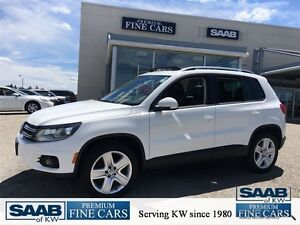 2013 Volkswagen Tiguan AWD ACCIDENT FREE LEATHER PANO ROOF EXCEL