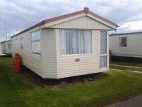 3 bedroom static caravan for hire at Red Lion Caravan Park Arbroath