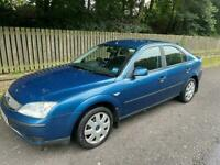 Ford Mondeo 1.8 LX, Very Long MOT May 2022; Only 72,000 Miles, Service History, Super Clean