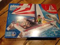 NEW Playmobil 5130 catamaran with dolphins - Sealed in box