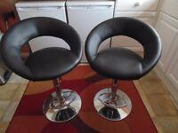 2 Bar/Kitchen Chairs
