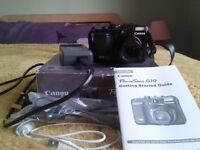 Canon powershot G10 in good condition.