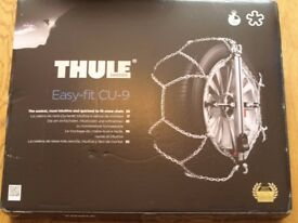 Pair of Thule Snow Chains easy fit CU-9