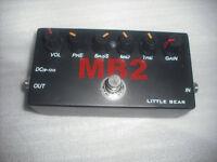 Little bear mesa MB2 guitar distortion pedal boogie drive metal case effect dr
