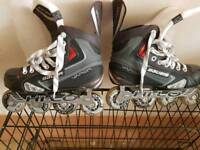 BAUER x40r Skates size 6