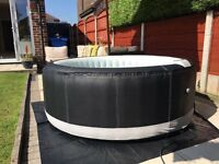Hot Tub Brand New 2017 premium model built in pump heater and controls self inflates