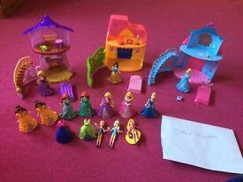 Disney Magic clip dolls