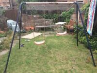 FREE; Garden swing, double, to a good home