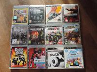 A job lot of PS3 Games