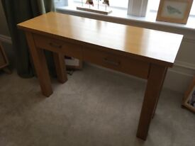 John Lewis solid console table