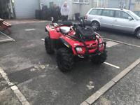 Cam am outlander 800cc very low mile
