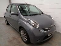 NISSAN MICRA , 2008 REG , ONLY 37000 MILES + HISTORY , HUGE SPEC , YEARS MOT , FINANCE , WARRANTY