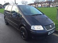 VW SHARAN AUTOMATIC DIESEL, MOT 8/2017, 7 SEATER