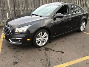 2015 Chevrolet Cruze 2LT, Manual Leather, Sunroof, Back Up Camer
