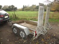 INDESPENSION 8-0 X 4-0 (2000KG BRAKED) PLANT TRAILER.........
