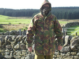 Mens Waterproof DPM Cammo Parka & Overtrousers for Sale