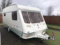 Fleetwood crystal 148-4 berth light weight caravan