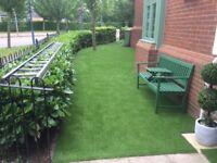 Artificial Grass Installation - From £44 per Sq. metre