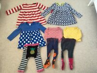 Bundle of girls clothes 1-2 years