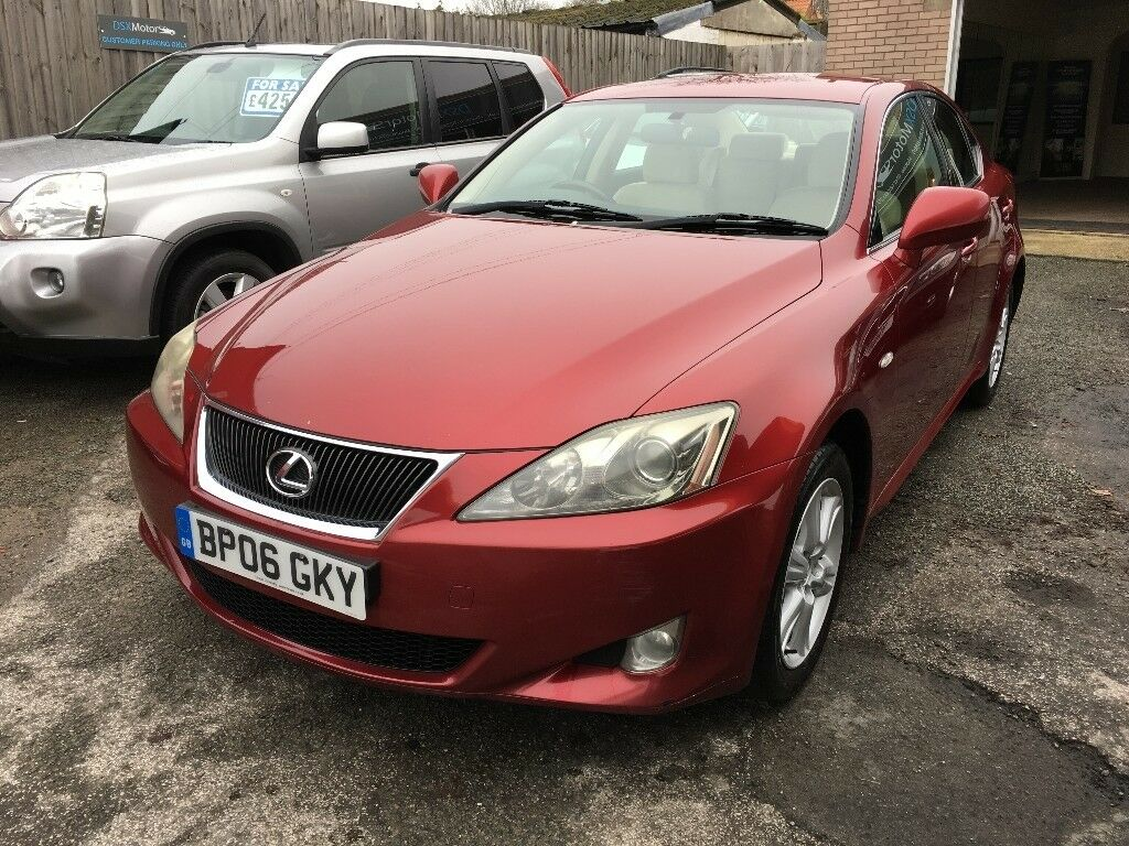2006 Lexus Is220d Great Colour Combination In Lincoln