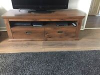 Lovely Tv cabinet Fits tv up to 55 inches Rustic Walnut Oak