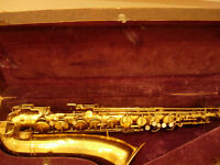 Martin Standard 1945 tenor saxophone - superb vintage sax, a real player's instrument
