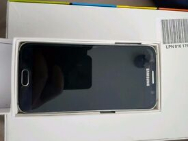 S6 16gb black with original charger earphone box