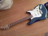 Blue cruiser by crafter electric guitar
