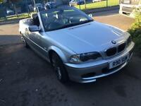 BMW E46 convertible 2000 2.2 petrol