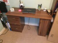 Walnut Computer Desk - brand new - still in unopened box