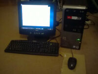 HP Compaq Midi Tower PC System - WIN 10 Activated, fully working good to go.