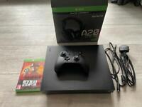 Xbox one X 1TB + 3 games + wireless Astro A20 Headset