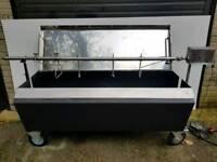 Hog roast machine bbq rotisserie gas heavy duty