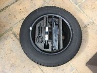 Brand new Never used Ford Fiesta spare wheel with tools