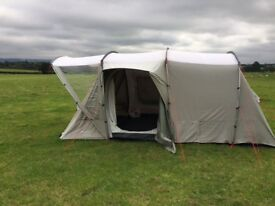 Sprayway Valley 4 Polycotton tent with Footprint and carpet included Had very little use.