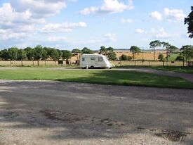 Caravan pitch available to let soon long term.