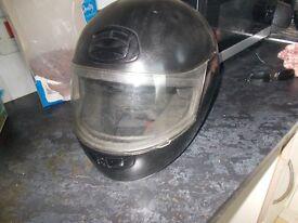 AGV Black Motorcycle Helmet