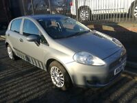 2009 (09 reg) Fiat Grande Punto 1.2 8v Active 5dr Hatchback, £1,795 p/x welcome