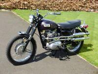 Triumph T100C 1969 500cc