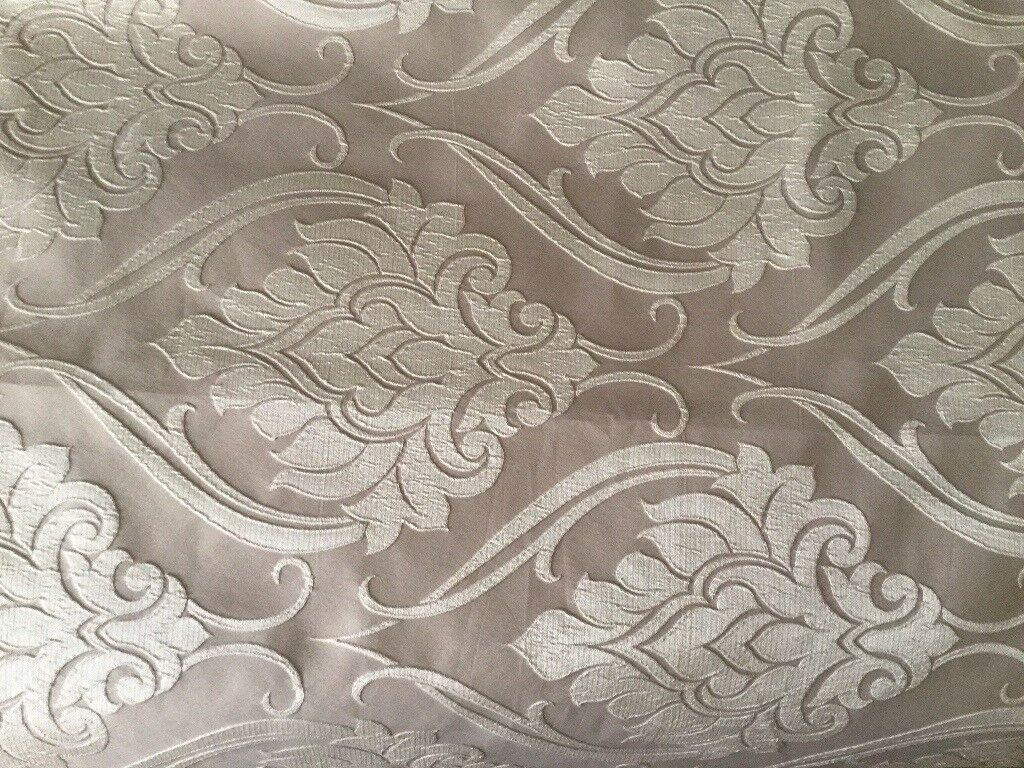 Marks & Spencer made to measure eyelet curtains 128cm wide x 216cm drop