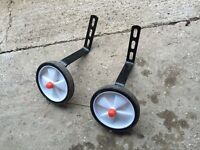 "Aide Bike Stabilisers 12-20"" Used"