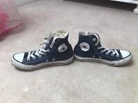 Converse all star Hi tops size 3