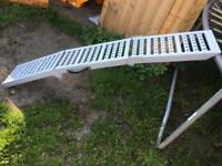 Motorcycle ramp £20
