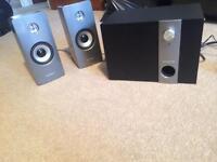 Soundstorm 2.1 multimedia speakers