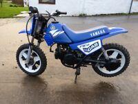 Yamaha PW50 Kids Mud Bike