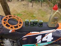KTM 250 SX-F kit 280 Beast!!