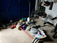 Great selection of weights £150 ono