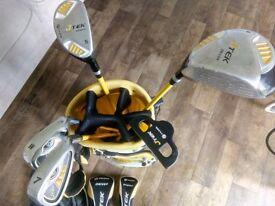 JTek Fazer kids junior golf set with bag age 6-8