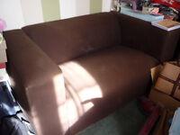 Ikea Compact 2-seat fabric sofa