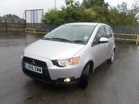 2009 MITSUBISHI COLT 1.3 CZ2 5 DOOR LOW MILEAGE YEAR MOT CHEAP TO RUN NICE CAR